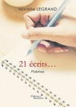 Marielle LEGRAND - 21 écrits...